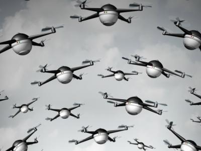 Drone'lar Sürü Halinde Görev Yapacak